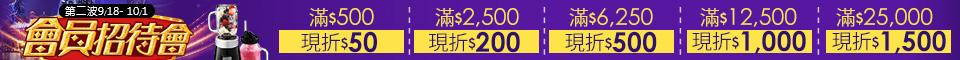 天天最高送$9,500元大紅包