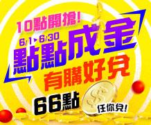 【6月天天10點開搶】超級優惠商品!