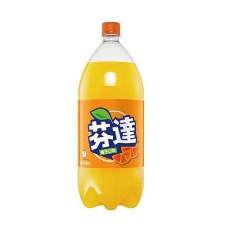芬達橘子汽水寶特瓶2000ml