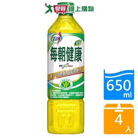 御茶園每朝健康綠茶650ml*4入