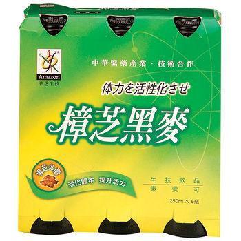 甲芝生技樟芝黑麥汁250ml*6入