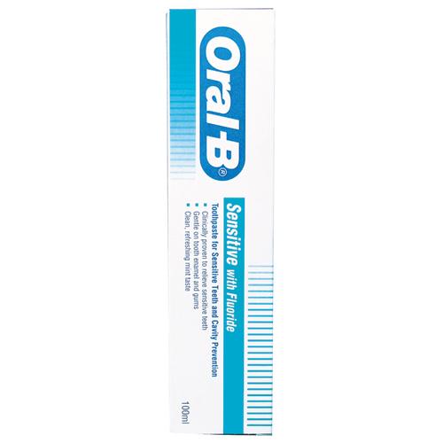 歐樂B抗敏感牙膏^(含氟配方^)100ml