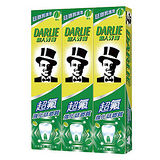 黑人超氟牙膏200ml*3條(大包裝)