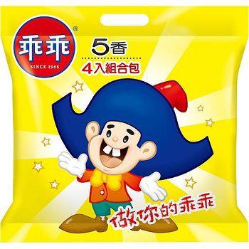 乖乖玉米脆條-五香口味52g*4入/袋