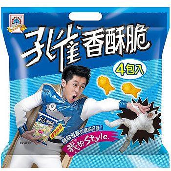 孔雀香酥脆-香魚口味4入