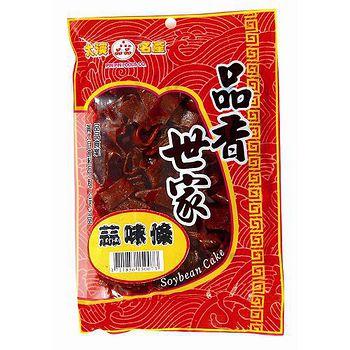 桃園大溪品香世家品品黃大目-蒜味條豆乾115g