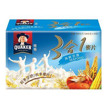 桂格3合1麥片-海鮮百匯28g*8入/盒