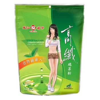天仁高纖綠茶粉7g*20入