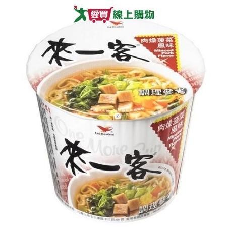 統一來一客杯麵肉燥菠菜風味67g *3入