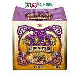 統一滿漢大餐珍味牛肉麵173g*3入