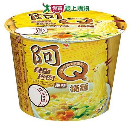 阿Q桶麵蒜香珍肉風味106g*3桶/組