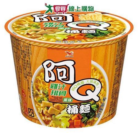 阿Q桶麵雞汁排骨風味107g*3桶/組