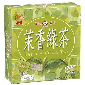 天仁袋茶防潮包-茉莉綠茶2g*100入