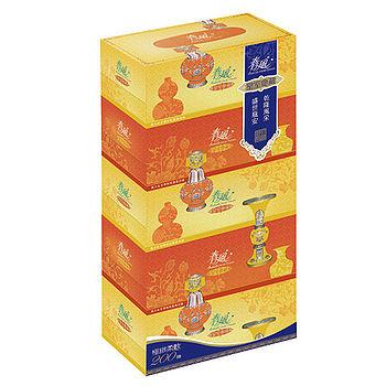 春風盒裝面紙200抽*5盒