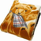歡樂甜蜜熊保暖毯