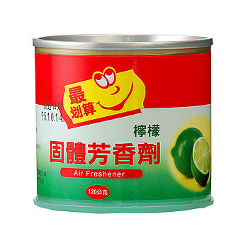 最划算固體芳香劑-檸檬120g