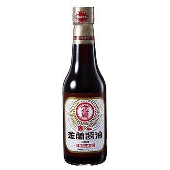 金蘭陳年醬油(非基因改造黃豆)500ml