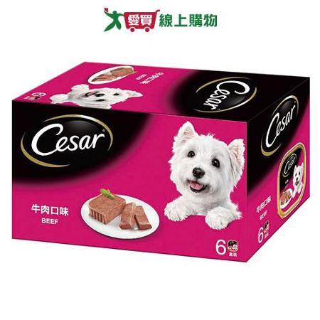 西莎精緻狗罐頭-牛肉100g*6入