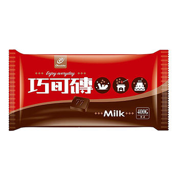 宏亞波露巧克力磚400g