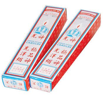 紅蠟燭(2盒入)-大