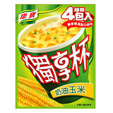 康寶奶油玉米獨享杯18gx4入/盒
