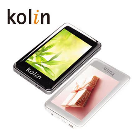 Kolin 3吋 8GB MP4數位播放機(KMP-302W)