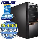華碩B85平台【四代電玩G】Intel第四代i5四核 GT610-2G獨顯 500GB燒錄電腦