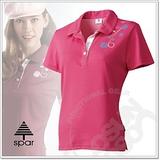 【SPAR】女款 短袖舒氣快乾POLO衫.吸濕.排汗衣.纖細身型.運動線條搭配.透氣網格/ SA101334