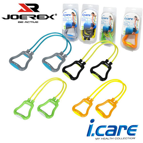 《購犀利》日本品牌【JOE愛 買 薪水REX】艾可兒多功能雙管塑身健美器/雙管拉力器/兩管式擴胸器