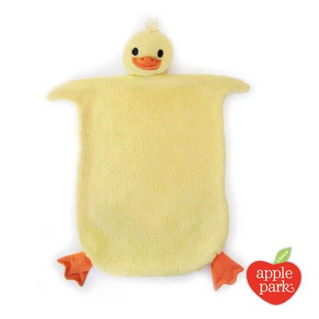 美國【Apple Park】有機棉安撫巾彌月禮盒 - 小鴨