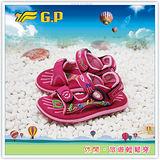 [GP]阿亮代言-快樂童涼鞋-磁釦涼拖兩用鞋 G3626B-45(桃紅色)共有三色