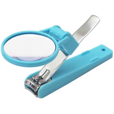 大號安全指甲剪指甲刀帶放大鏡帶護套(A201)