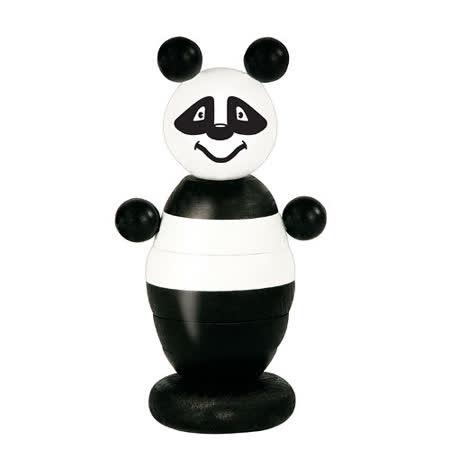 【德國HEROS木製積木】Pauly小熊貓疊疊樂-73712