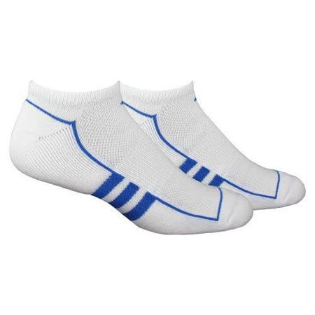 Adidas 男Clima時尚白色低切襪子2雙包【預購】