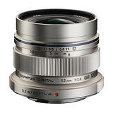 OLYMPUS EW-M1220 / M.ZUIKO 12mm F2.0 定焦鏡頭(平行輸入).-加送LP1拭鏡筆