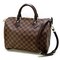 Louis Vuitton LV N41367  N41183棋盤格紋Speedy 30 手提包(附背帶)_現貨