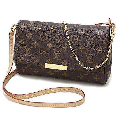Louis Vuitton LV M40718 Favorite MM 經典花紋鍊條肩背包(附皮革背帶)_現貨