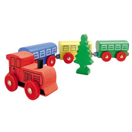 【德國HEROS木製積木】建蒸汽火車積木組-44862