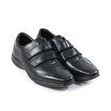 CLARKS_克拉克 (男款) 健布系列黏沾式氣墊鞋-黑色