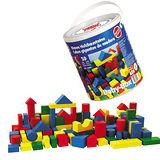 【德國HEROS木製積木】彩色積木寶貝桶Babybox-50401