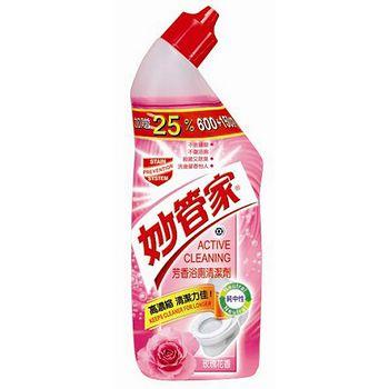 妙管家中性浴廁清潔劑-玫瑰750G