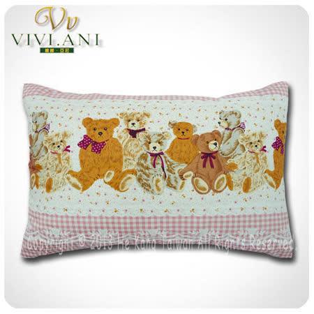 《VIVI.ANI》美國泰勒.比利100%天然兒童乳膠枕-粉