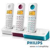 【飛利浦PHILIPS】數位無線電話D2001