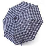 【TV雨傘王】自動傘系_格紋型男傘(福爾摩斯款)