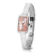 【Arseprince】極簡風格態度女錶-白玫瑰粉