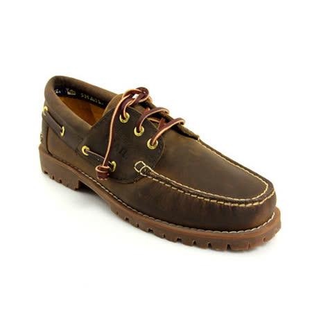 SNAIL蝸牛 雷根大底系列帆船鞋(男生款)-棕色