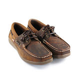 SNAIL蝸牛 厚底帆船鞋(男生款)- 棕色