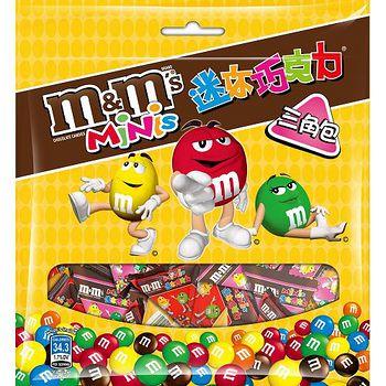 M&M'S迷你巧克力三角包133g