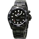 ORIENT 海洋漫遊防水200米專業機械錶(IP黑-)FEM65007B