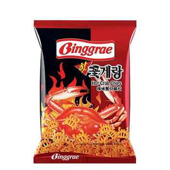 BINggRAE辣味蟹仔脆片 46g